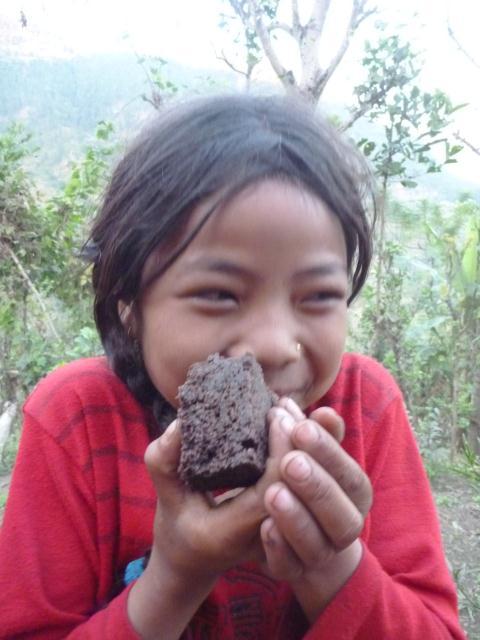 Gâteau au Chocolat au Népal