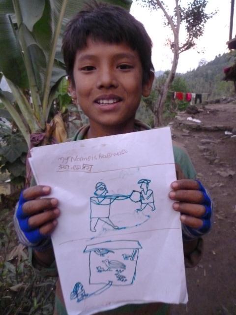 dessin népal