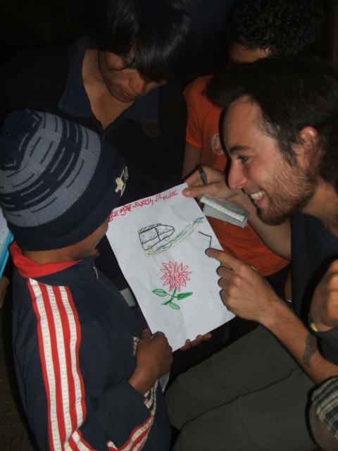 dessin népal Julien