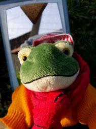 Froggy se prépare pour le tour du monde