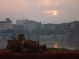p1070137 - Coucher de soleil sur Leshan