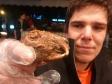 p1070414 - Dans la tête de lapin , tout se mange : cervelle, yeux, gencives, et même la langue !