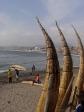 Sur les plages de Trujillo au Perou