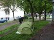 p1020135 - Camping sauvage à Bergamo en Italie. La tente nous servira uniquement 5 fois en 3 mois, avant de la revendre...