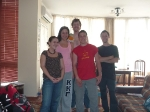 p1020615 - Une des nombreuses expériences de Couchsurfing, ici à Tirana en Albanie.