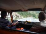 p1020801 - Pris en stop par les agents de la DDE macédonienne, sur des routes désertes de tout véhicule, en pleine campagne.