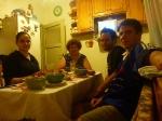 p1030211 - Hébergés chez Yulia , une conductrice bulgare, qui nous invitera à dormir et nous offrira un excellent repas en compagnie de sa maman.