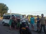 p1030442 - 300 km en van pour rejoindre le nord de la Roumanie, sans même lever le pouce grâce à nos compatriotes bretons rencontrés sur la plage.