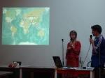 p1030919 - Une conférence à Moscou pour parler de l'autostop et de notre voyage autour du monde.