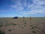 p1040750 - Un moment de tranquillité extrême au milieu du désert de Gobi.