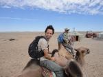 p1040904c - Balade en chameau sur la grande dune de sable du désert de Gobi.