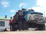 p1050091 - L'auto-stop en Mongolie fonctionne bien mais il est rarement gratuit... Et pour le prix, vous aurez droit à coup sur de rester embourbé dans les chemins défoncés...