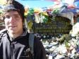 p1090103 - Noël 2010, nous sommes à 5416m d'altitude seul au monde au milieu des montagnes et d'un froid glacial