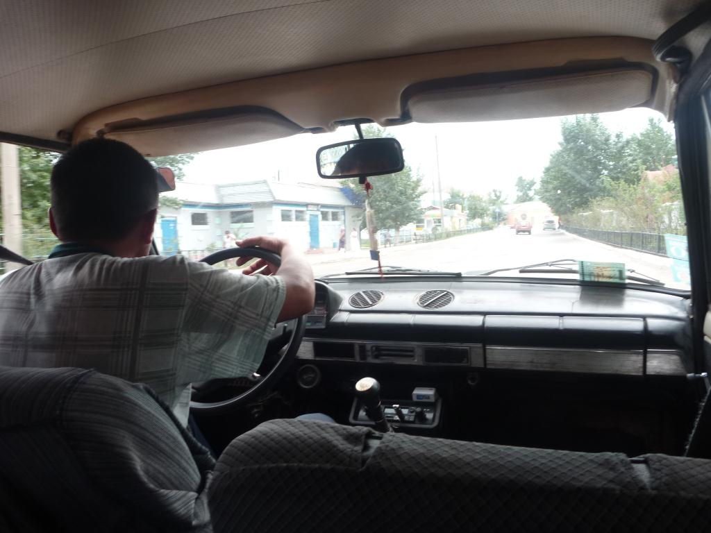 Sur la route, direction la Mongolie, en stop