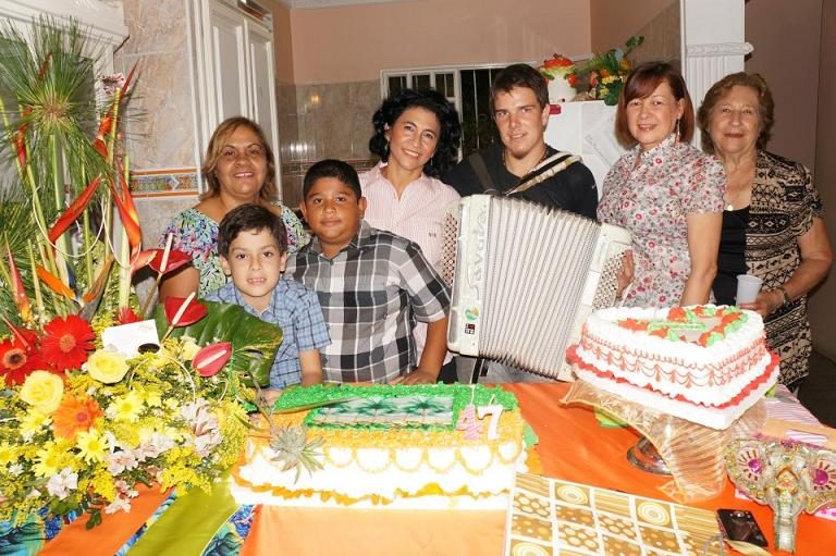invité a un anniversaire au Venezuela