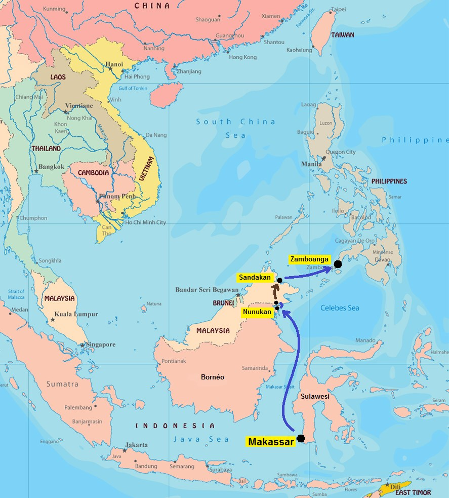 map archipel 3 (trajet surface)