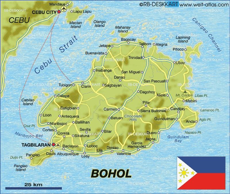 map_bohol_island