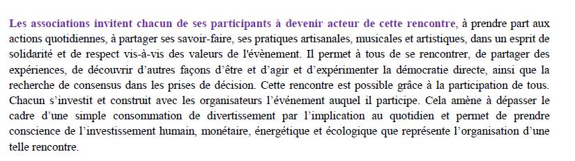 Programme fête permaculture  dans un éco-lieu en Bourgogne 2