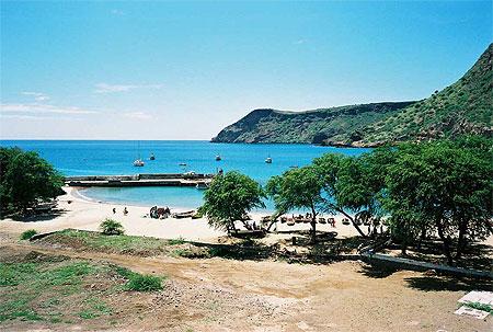 La plage de Tarrafal après 70km de marche