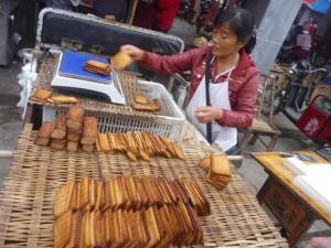 Du tofu au marché